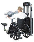 Access by apex fitness, wheel chair fitness, reha fitness, commercial fitness, disability fitness
