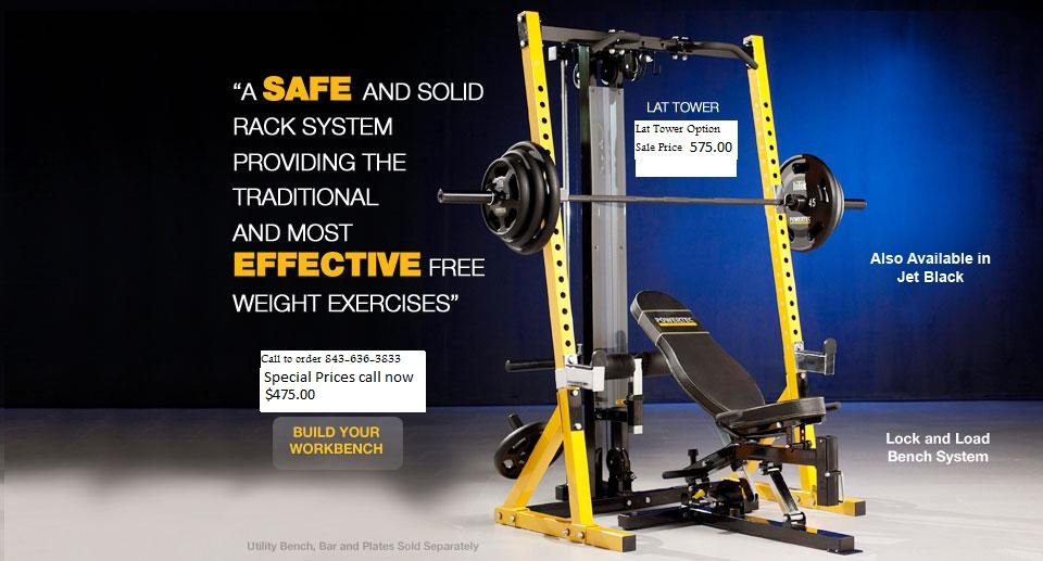 sqaut rack, half rack, powertec, wbhr10, wb-hr10, home gym, free weight gym, fitness