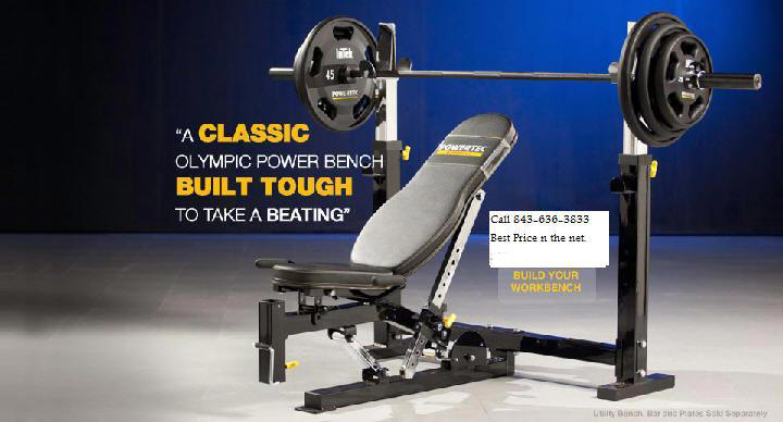 powertec olympic weight bench wb onb